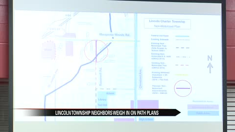 Lincoln Township neighbors weigh-in on new path plans